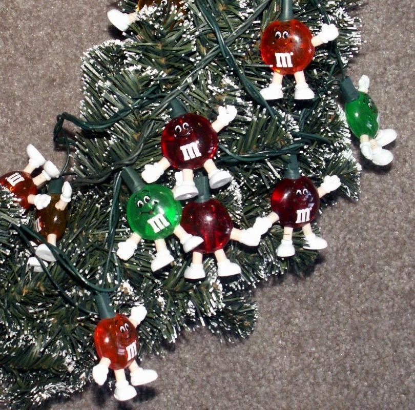 mm lentil larger diameter garland mm character old style christmas lights wreath - Mm Christmas Lights