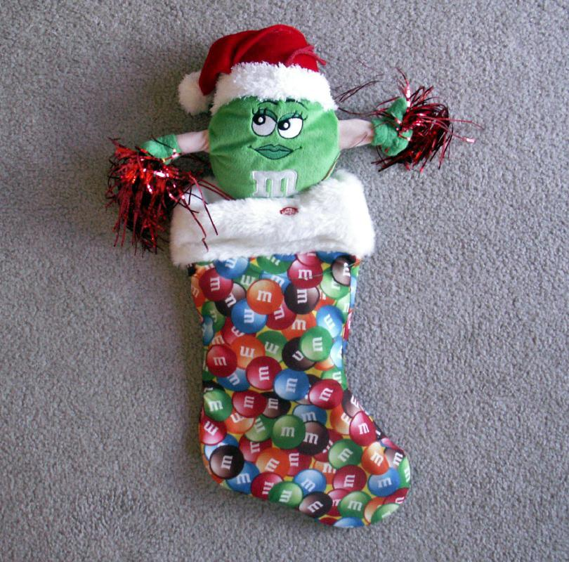 22 Inches Tall MM Animated Christmas Stocking